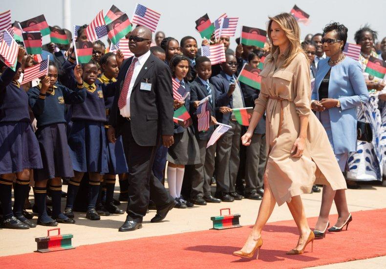 Melania Trump, Africa, Malawi, shithole