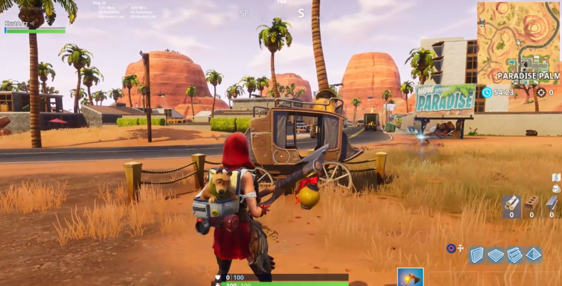 Fortnite Week 2 Secret Banner Location
