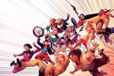 Wonder Comics Brian Michael bendis dc comics meet the publishers