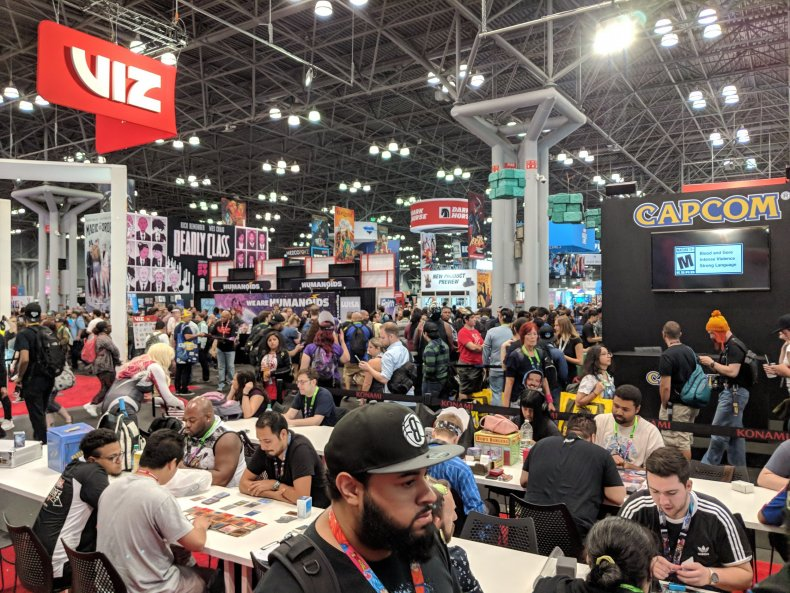 yugioh booth nycc 2018