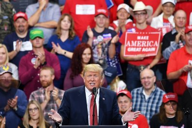 President Donald Trump Minnesota