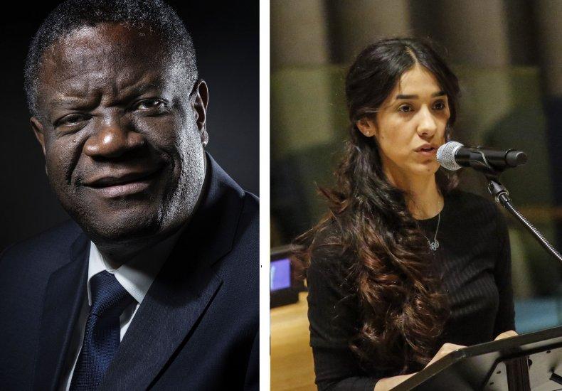 Denis Mukwege and Nadia Murad
