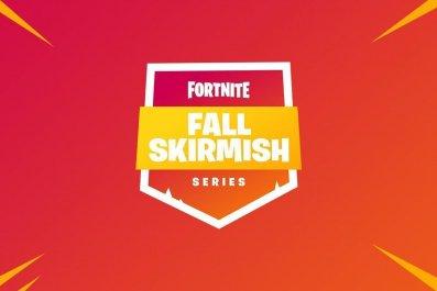 Fortnite Fall Skirmsih logo Wek 3