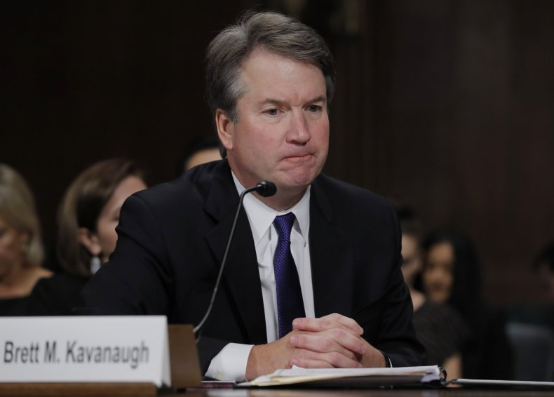 Kavanaugh friends doesn't truth confirm him