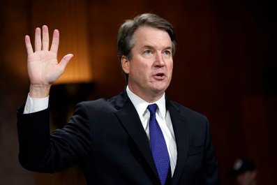 kavanaugh hearing swearing in