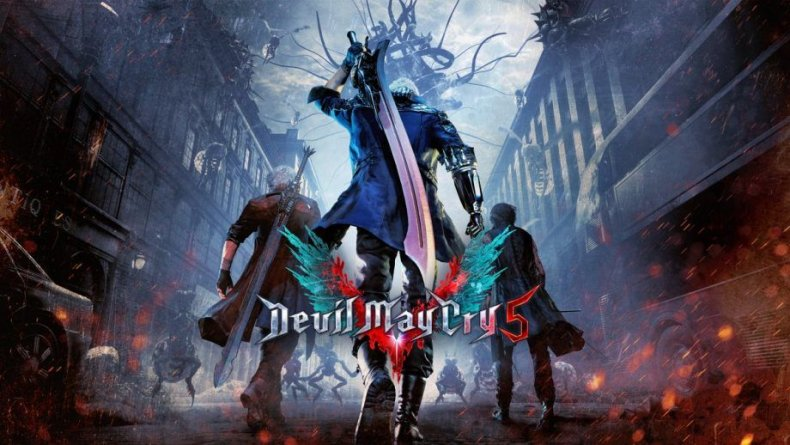 devil may cry 5 art