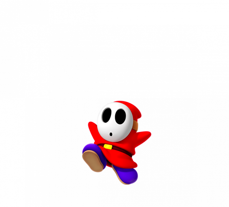 super mario party character list shyguy