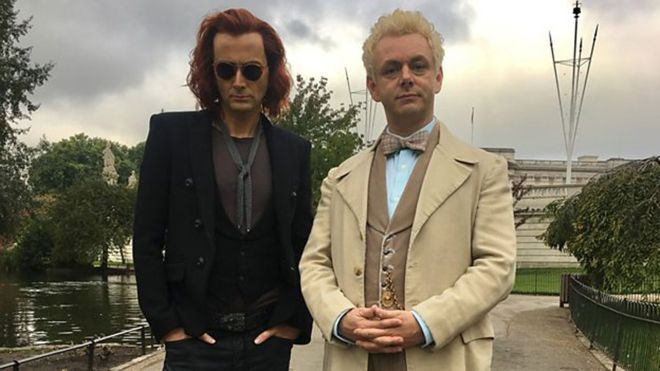 good omens amazon tennant sheen