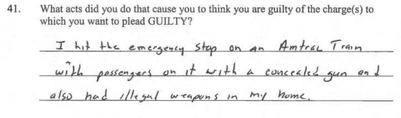 Taylor Wilson guilty plea