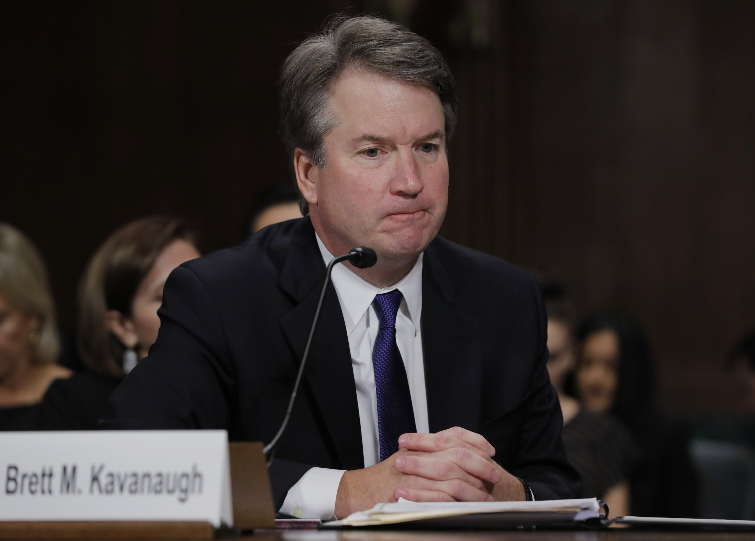 impeach Kavanaugh after official supreme court