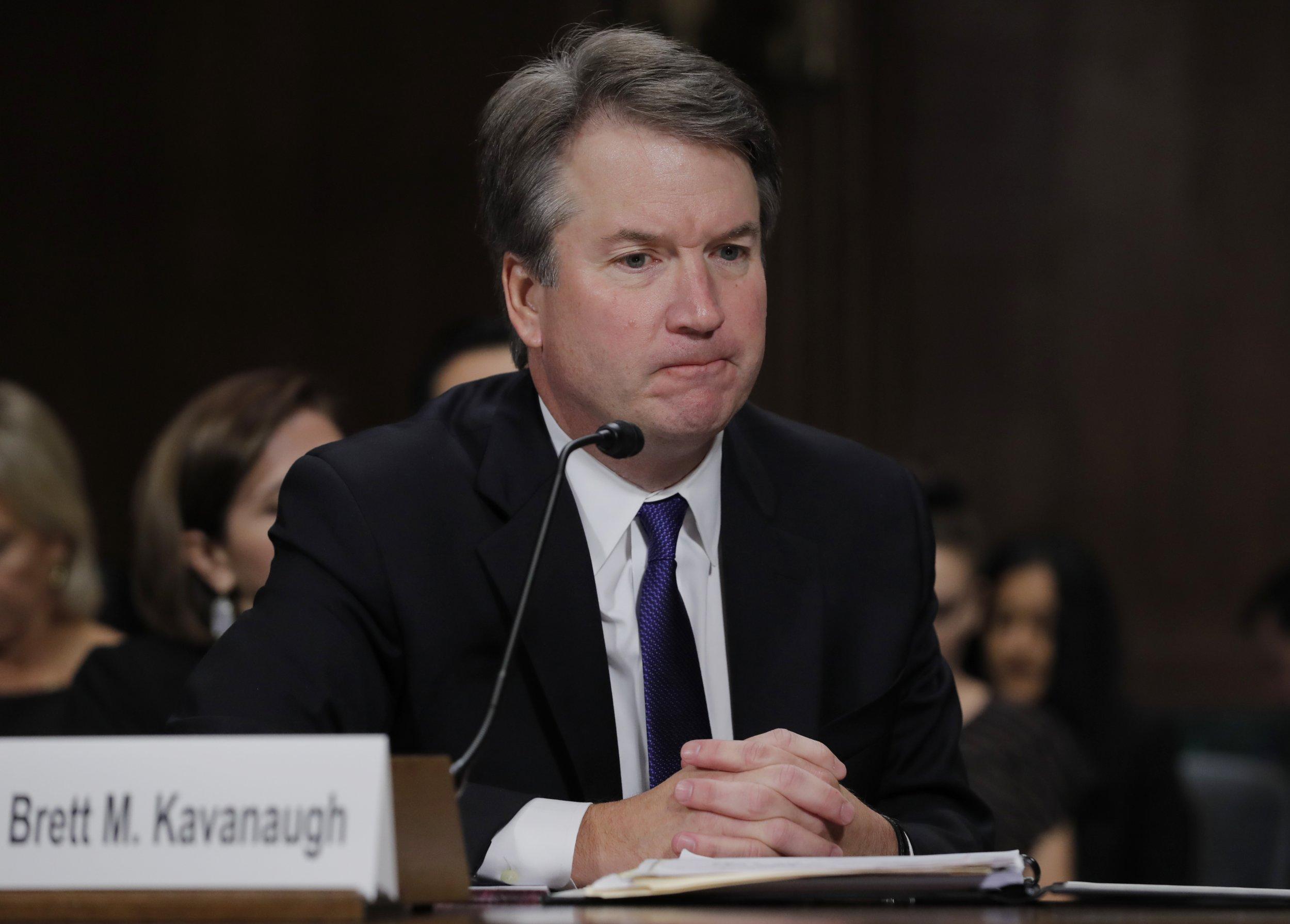 impeach Kavanaugh after official supreme court