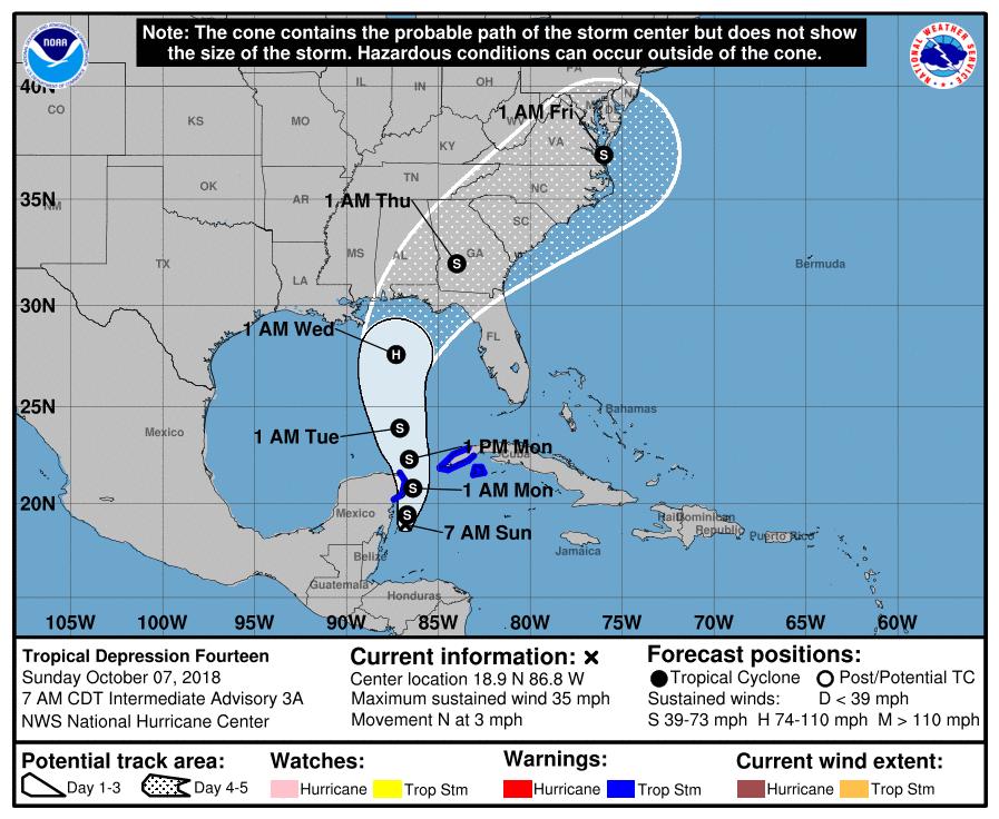 hurricane michael track - photo #31