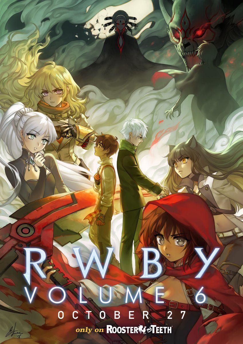 rwby volume 6 poster
