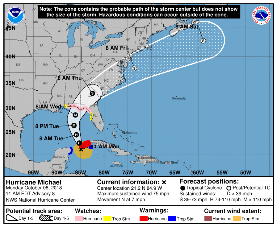 Mandatory Hurricane Michael Evacuations Hit Floridas\'s 30A, Walton ...