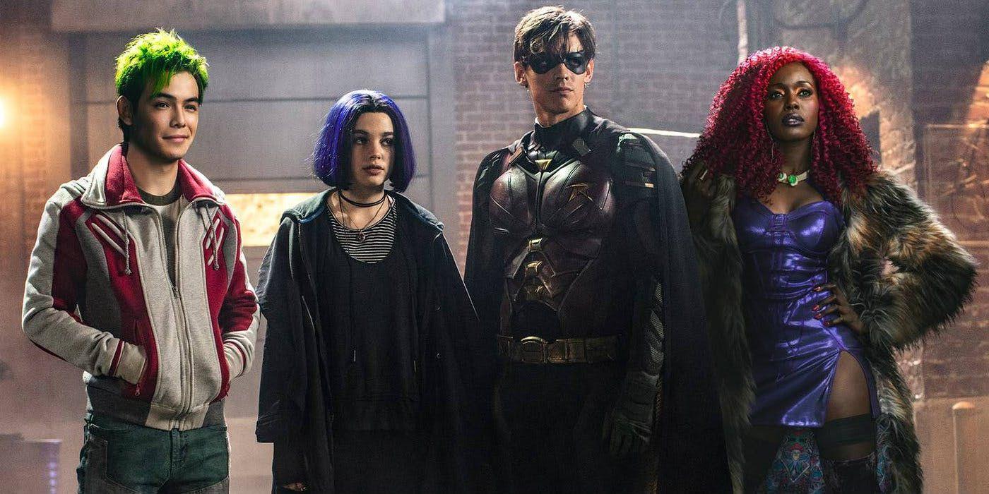 titans review dc universe original shows superhero tv series
