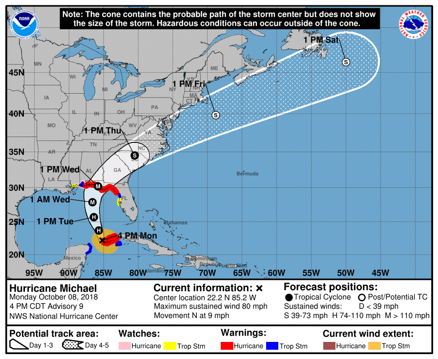 Mandatory Hurricane Michael Evacuations Hit Floridas S 30a Walton