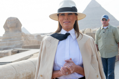 Melania Trump Was Happier in Africa Than With Donald Trump, Jimmy Kimmel Jokes
