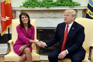 Trump and nikki haley