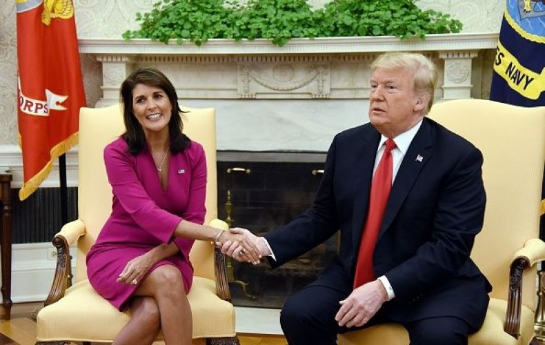Trump and nikki haley