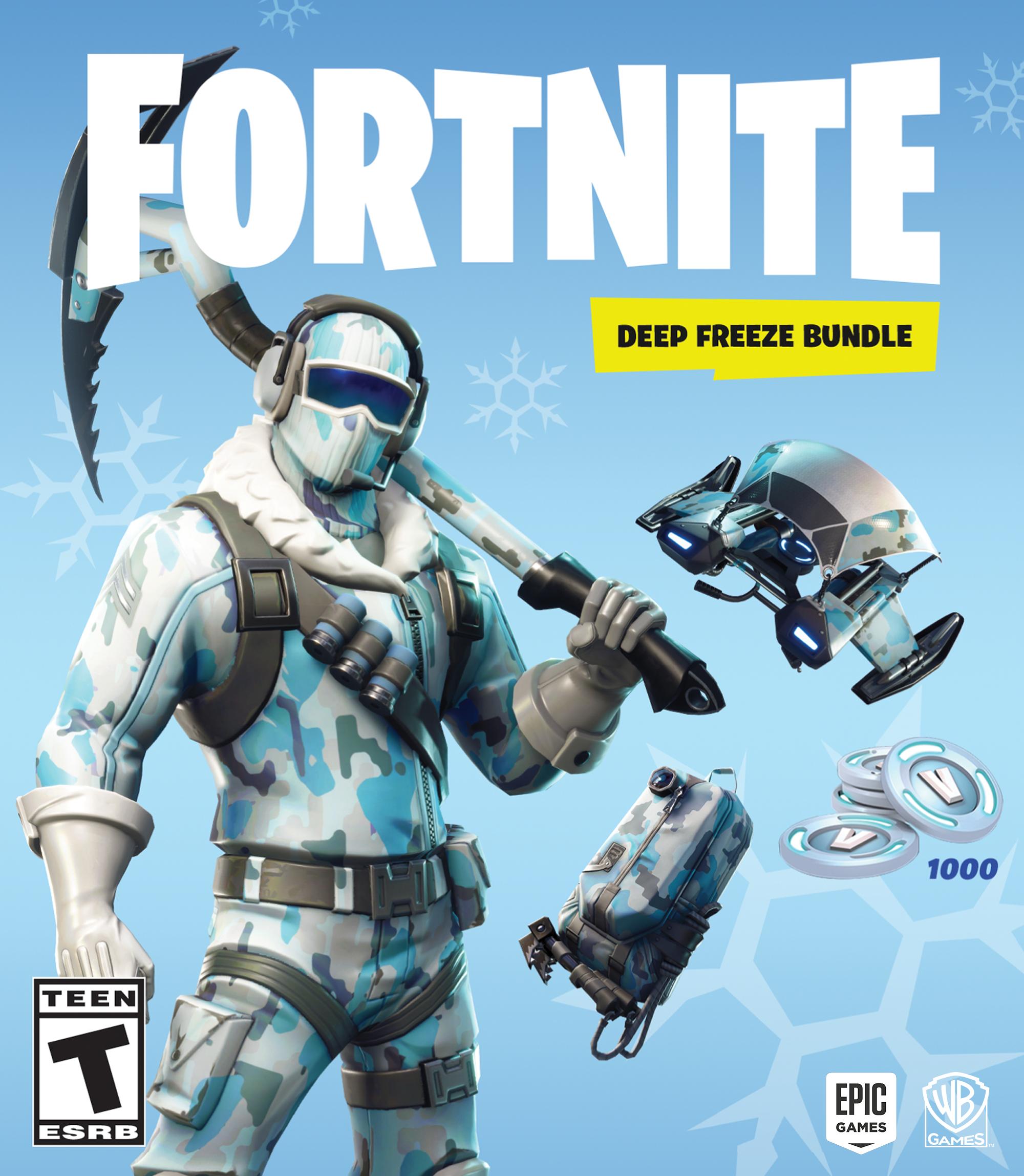 Fortnite Deep Freeze Bundle art
