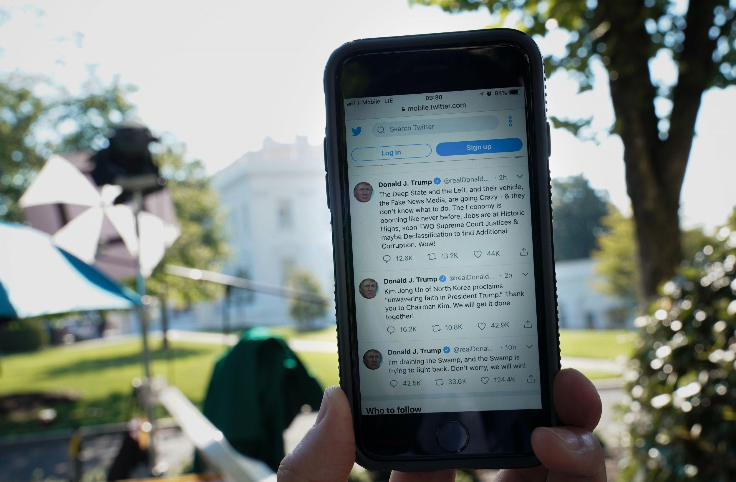 trump twitter followers real obama clinton