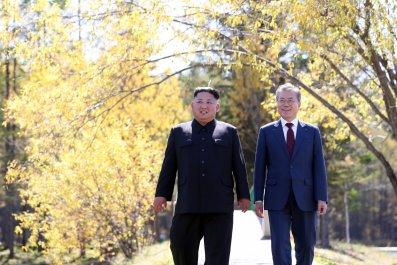 Kim Jong Un, Pope Francis, North Korea