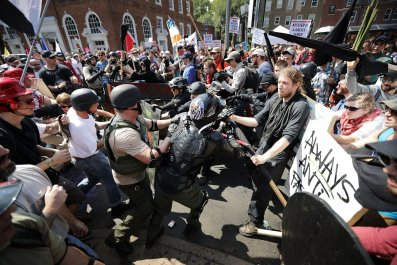 Neo-Nazi Man Convicted For Domestic Terrorism For Nebraska Amtrak Incident Marched in Deadly Charlottesville Rally