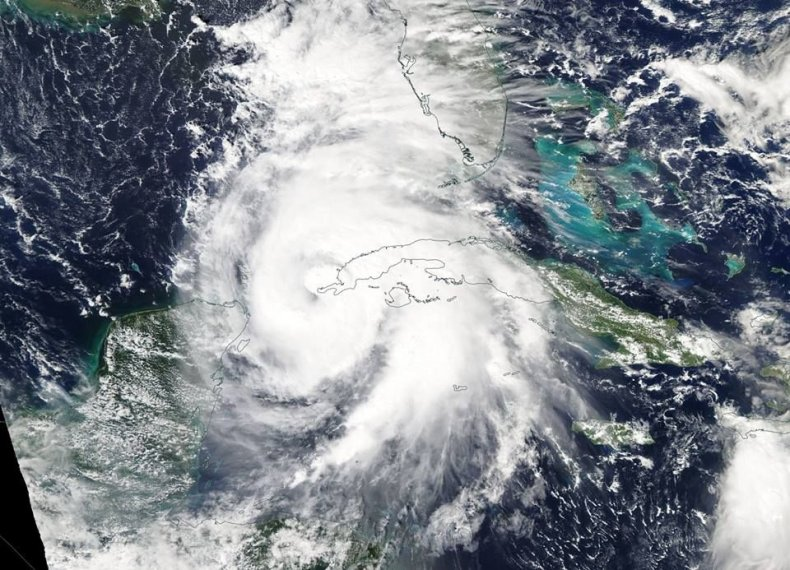 hurricane michael nasa