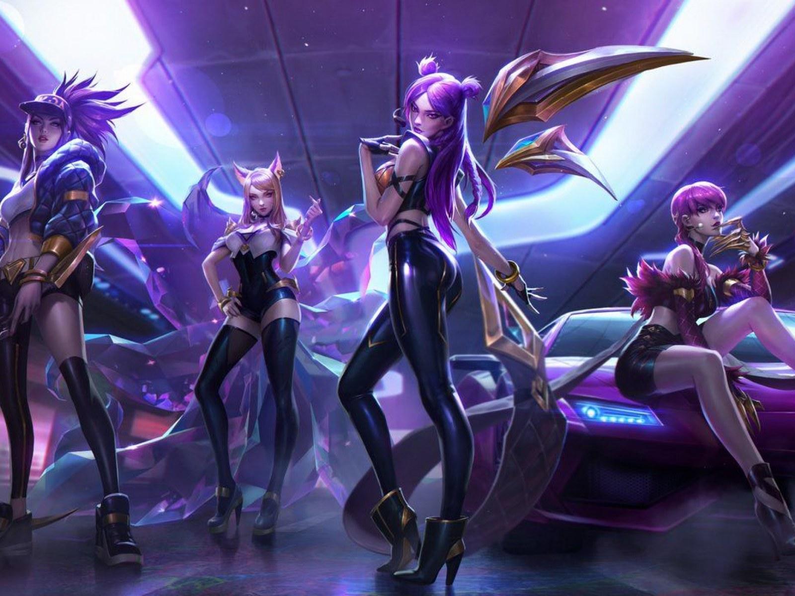 League Of Legends New K Pop Skins Revealed K Da Will Rock The World