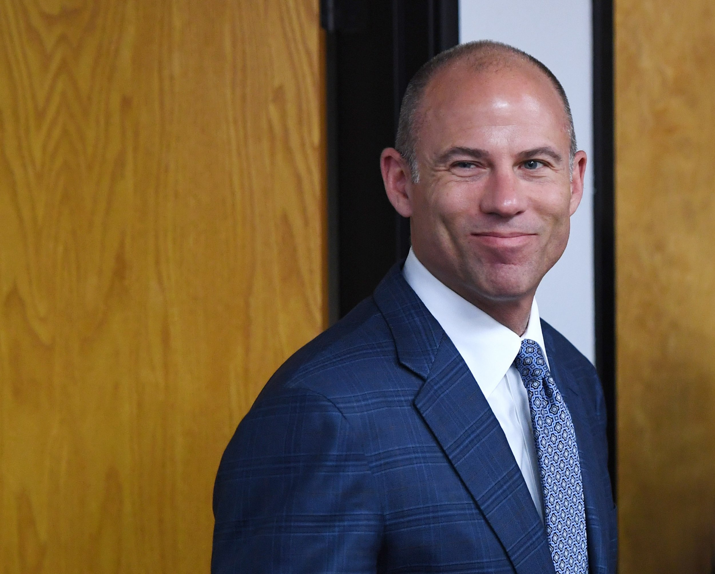 Michael Avenatti Wants to Fight Donald Trump Jr for Charity