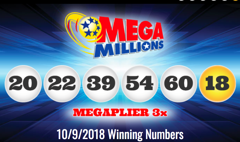 Mega Millions Results 10/9/18