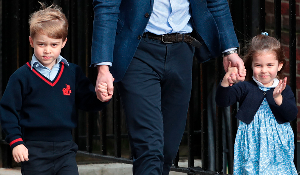 Prince George and Princess Charlotte to Walk in Princess Eugenie's Wedding