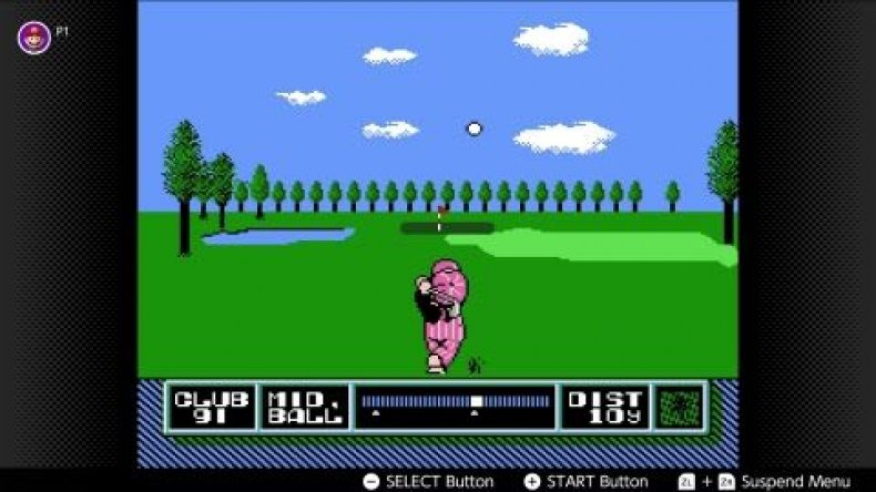 nes golf nintendo switch online