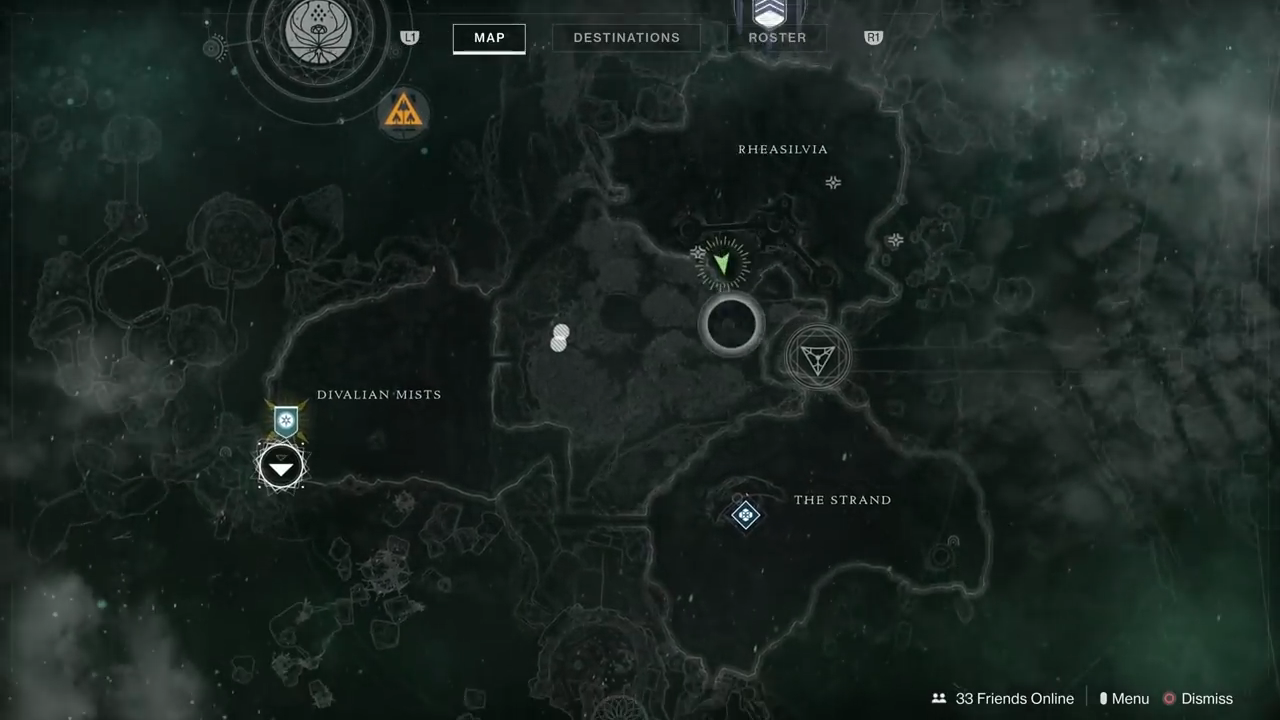 Destiny 2 Chamber of Starlight location