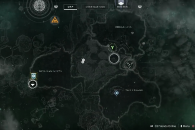 Destiny 2 Chamber of Starlight location