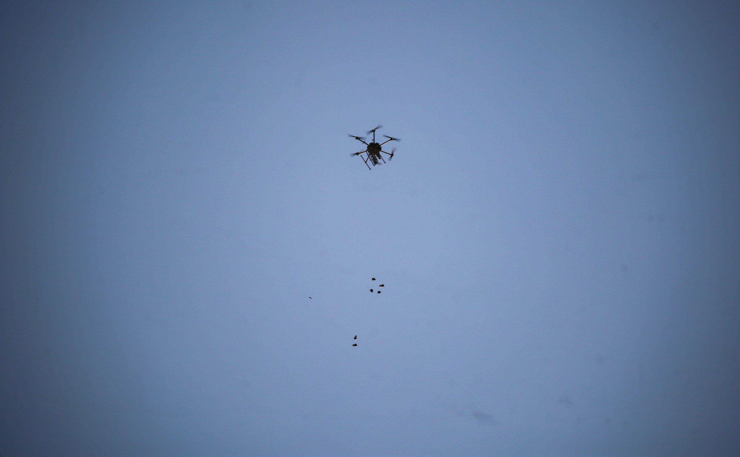 drones attack U.S., ISIS, MS-13