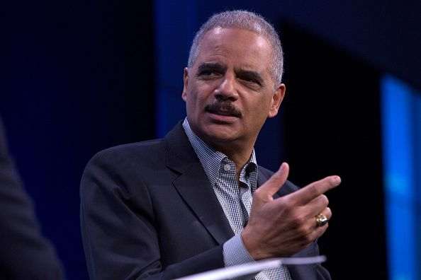 Obama's Attorney General Eric Holder said that when conservatives