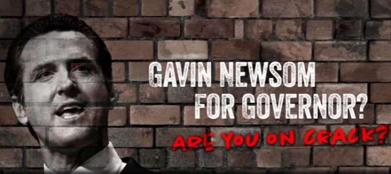 Gavin Newsom attack ad
