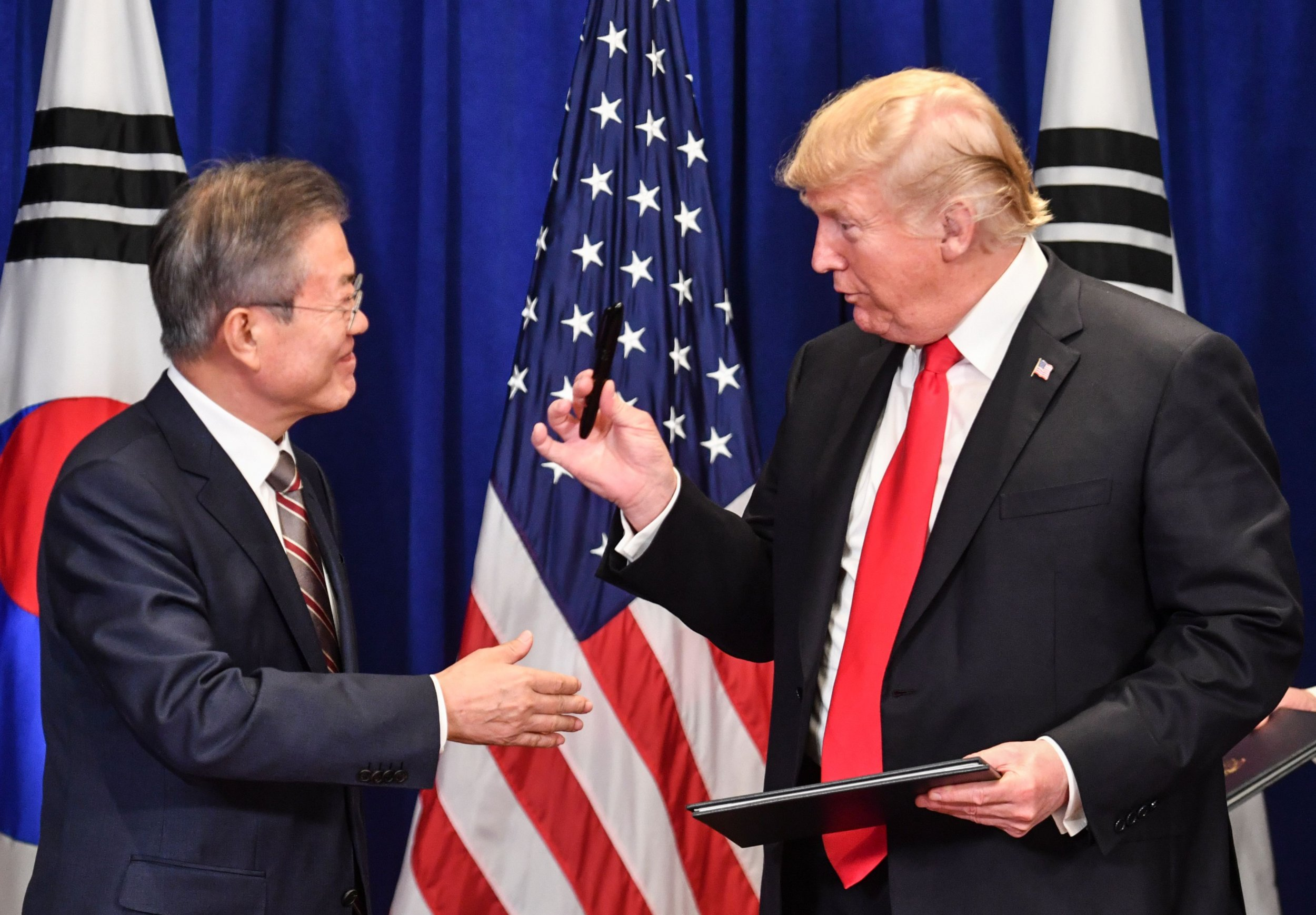 Donald Trump says South Korea does