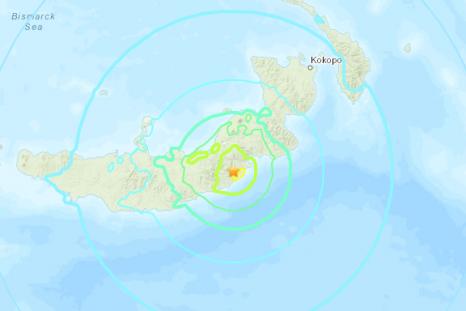 Earthquake Papua New Guinea