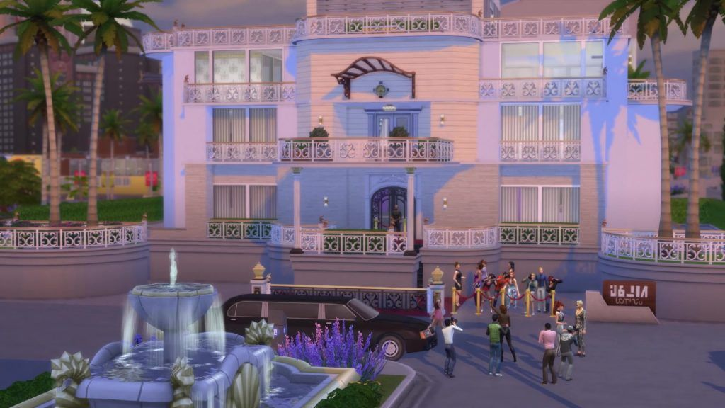 sims 4 get famous limos cars
