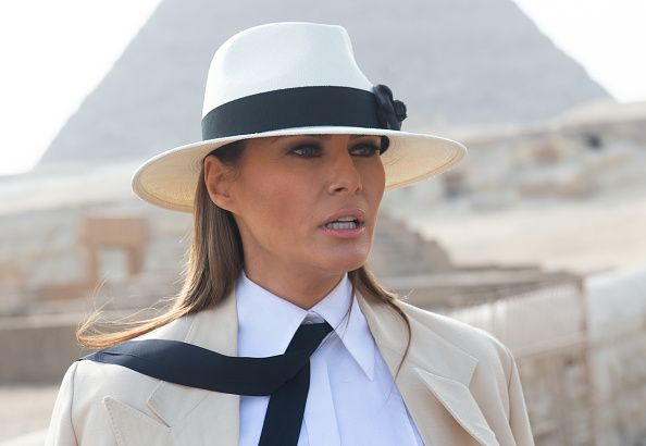 Melania Trump says that she's the