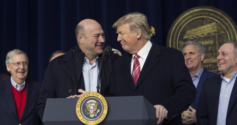 Trump Rails Against Gary Cohn and 'Fake News' for Anonymous New York Times Op-ed