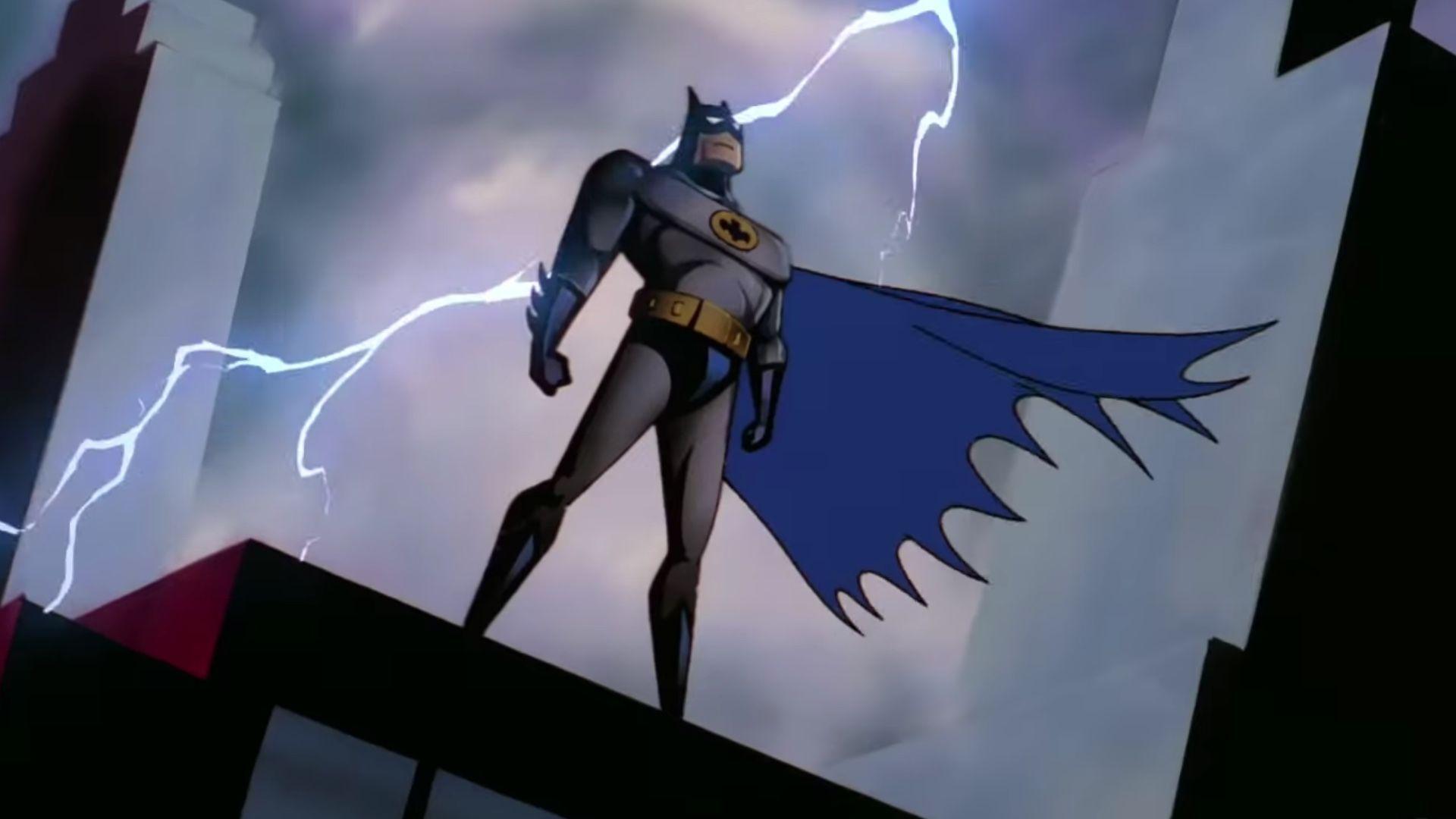 batman the animated series dc universe