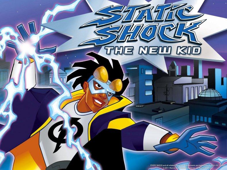 static shock kids wb dc unverse