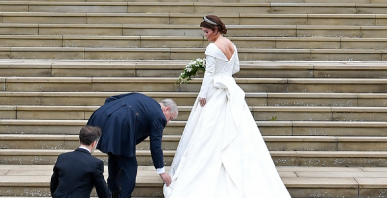 Why Princess Eugenie Wanted to Show Off Her Back on Wedding Day