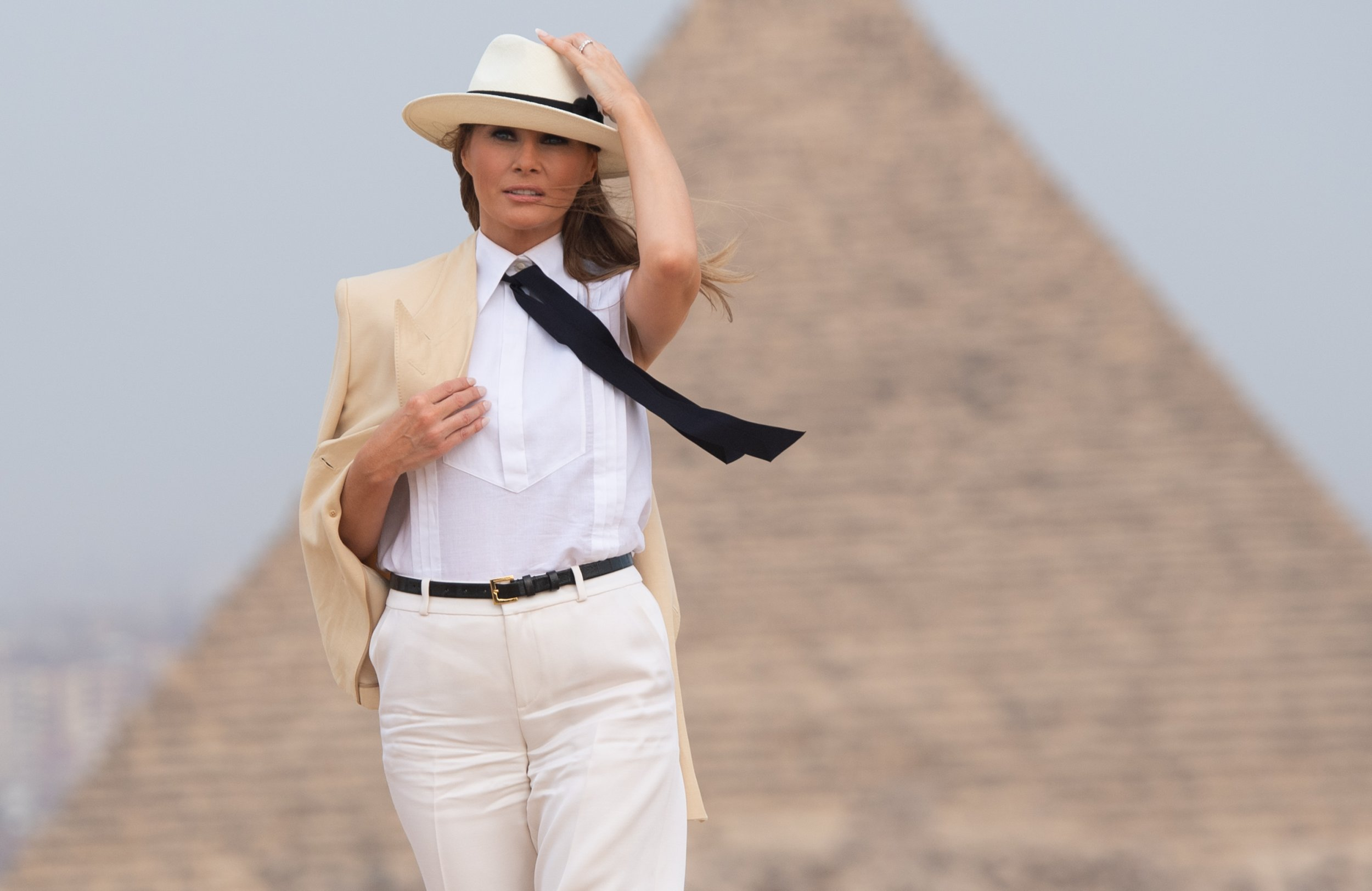 """Melania said she has """"much more important things to think about"""" than Donald Trump's alleged affairs"""