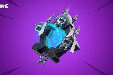 Fortnite Ghost Portal Back Bling