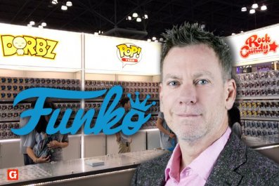 Funko CEO Brian Mariotti at NYCC 2018