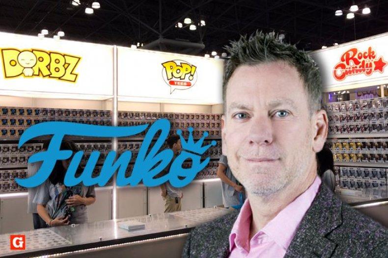 Funko CEO Brian Mariotti at NYCC 2018